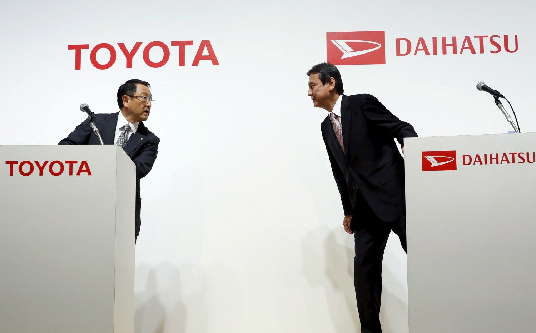 �Toyota� perka ma�� automobili� gamintoj� �Daihatsu�