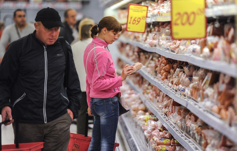 Rus� de�rose daug visko, tik ne m�sos