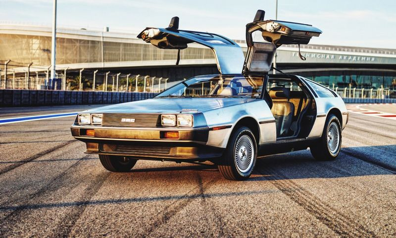 """DeLorean Motor Company"" per metus galės pagaminti daugiau nei 300 ""DeLorean"" modelių. ""Reuters"" / ""Scanpix"" nuotr."