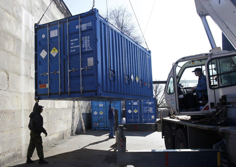 Taupymo planas logistams � �kojos� kroviniams konteineriuose