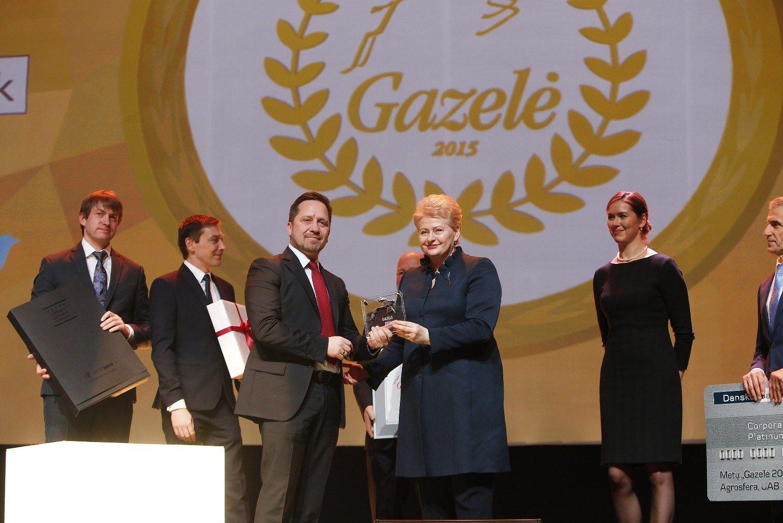 Agroverslo �Gazel�s�: rekordi�kai daug sektoriaus �moni�