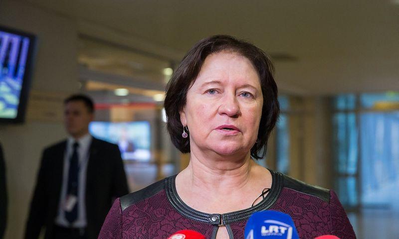 Virginija Baltraitienė, Lietuvos žemės ūkio ministrė. Juditos Grigelytės (VŽ) nuotr.