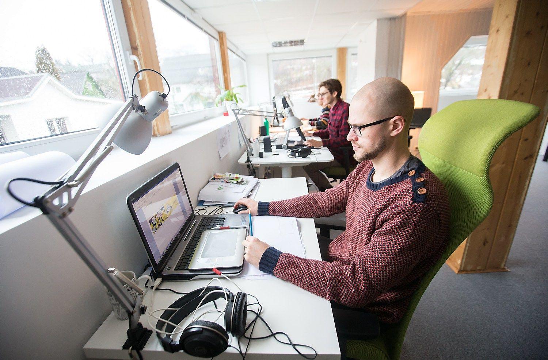 Vaizdo turinio k�r�jai �eng� ne�prast� �ingsn�: biuras Vilniuje