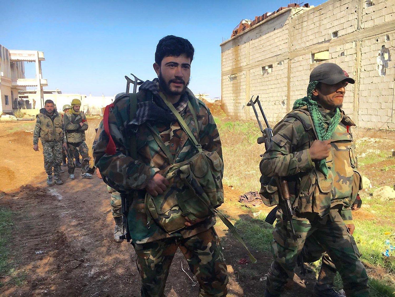 Rusija pripa�ino, kad Sirijoje �uvo jos karys