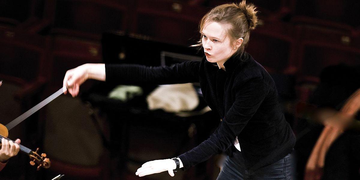Birmingemo simfoniniam orkestrui diriguos lietuv�
