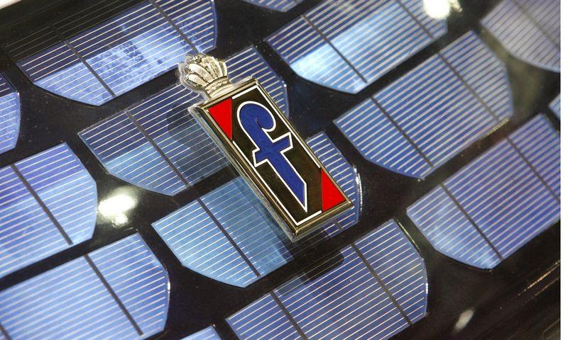 """""""Pininfarina"""" naujo koncepcinio modelio nepristatė nuo pat 2013 m. Arndo Wiegmanno (""""Reuters""""/ """"Scanpix"""") nuotr."""