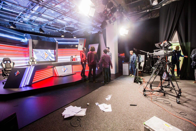 �aidim� televizija Vilniuje: nuo tarptautini� �vaig�d�i� iki slaptos �rangos