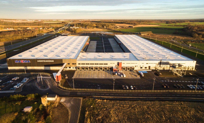 �Maxima� atidar� logistikos centr� Estijoje