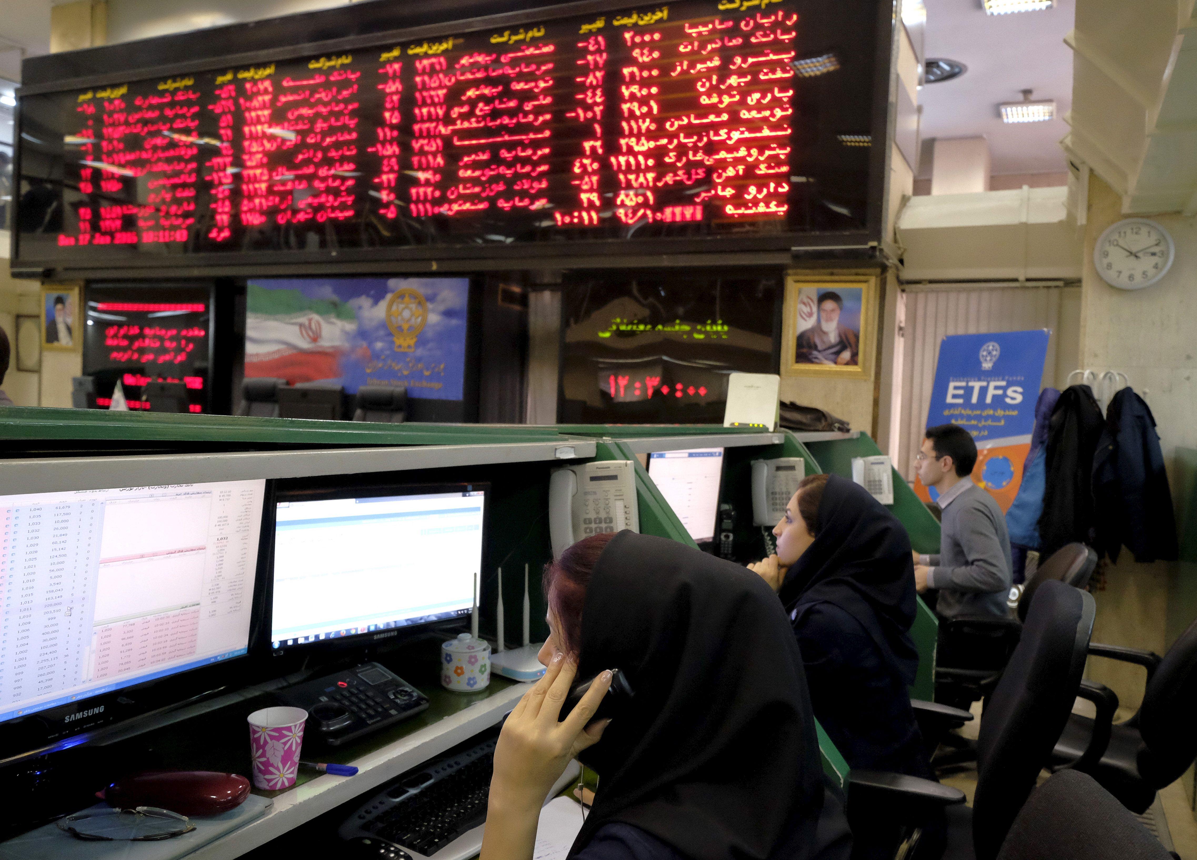 Nebijantiems rizikuoti � lyg ant mieli� auganti Irano akcij� rinka
