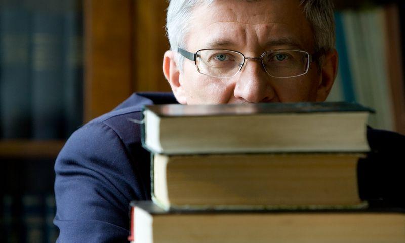 Doc. Boguslavas Gruževskis, Darbo ir socialinių santykių instituto direktorius. Juditos Grigelytės (VŽ) nuotr.