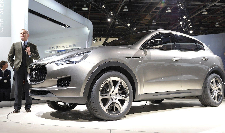 Pirmas �Maserati� visureigis kainuos tiek, kiek �Porsche Cayenne�