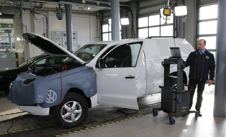 �Volkswagen� Baltijos �alyse �m�si �dyzelgeito� automobili� remonto