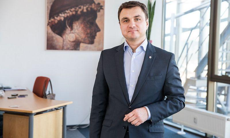 """Žydrūnas Stankevičius, UAB """"Enerty"""" generalinis direktorius. Juditos Grigelytės (VŽ) nuotr."""