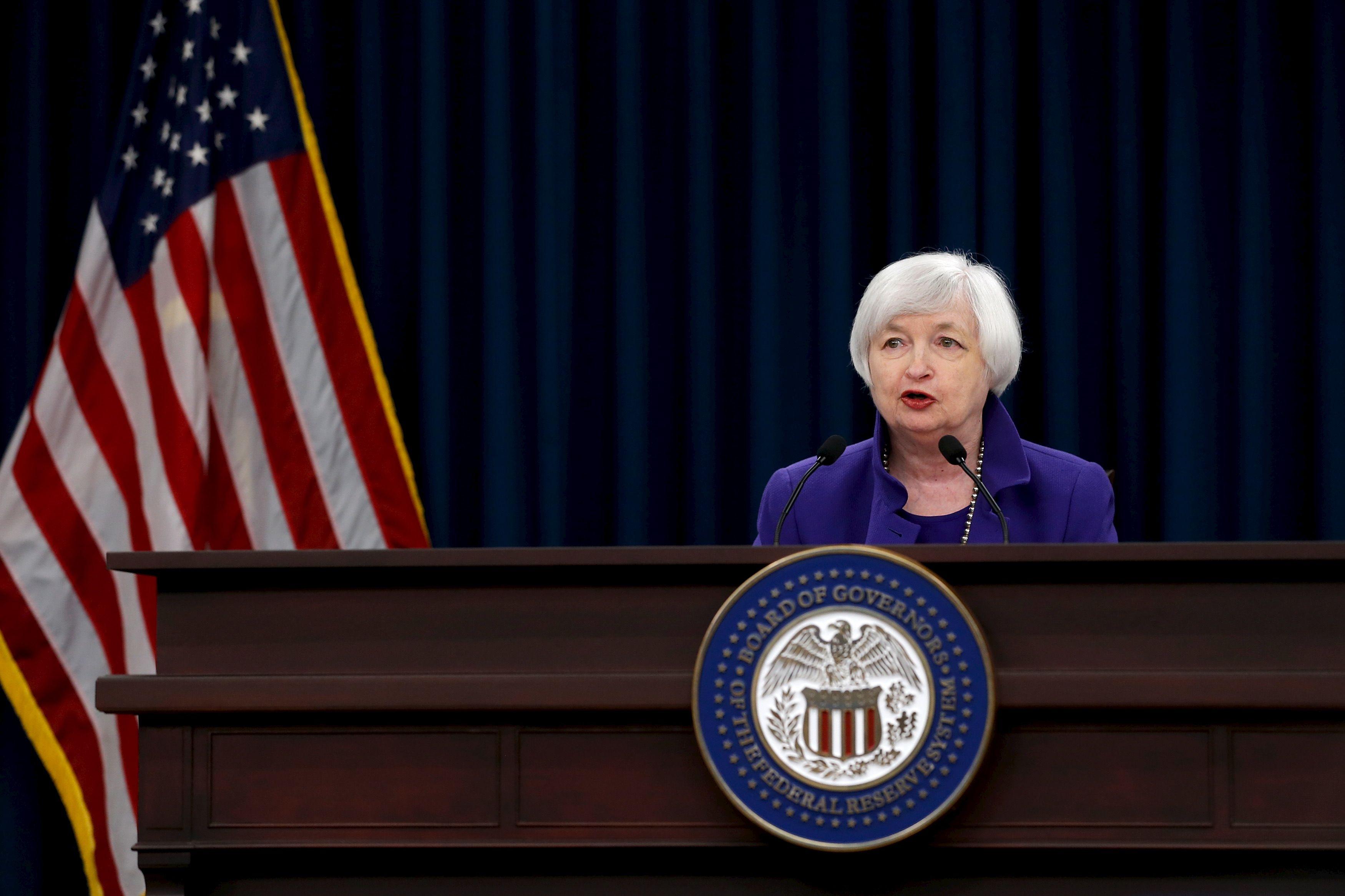 Yellen: s�lygos suprast�jo, bet pal�kanos kils