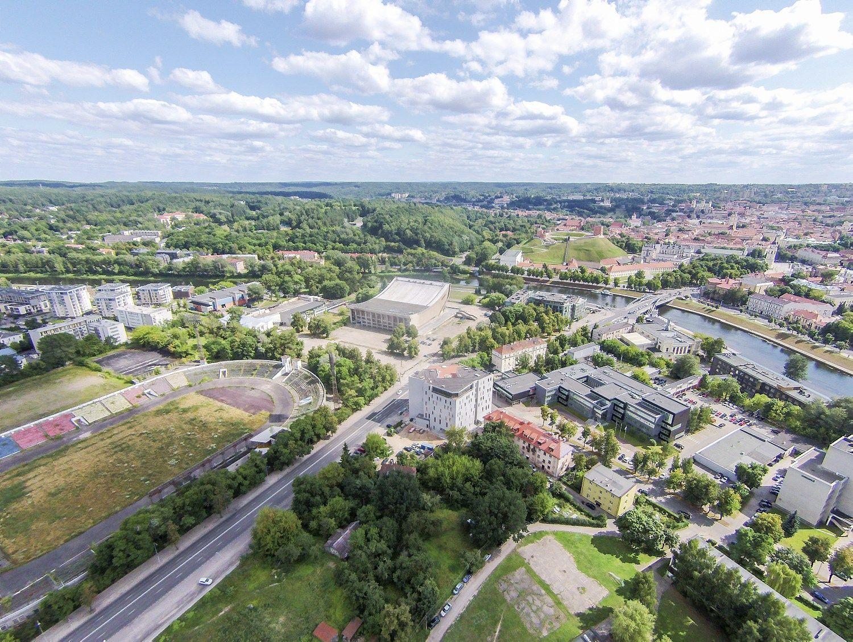Nauji projektai Vilniuje: konferencij� centras, vie�bu�iai �Marriott� ir �Accor�