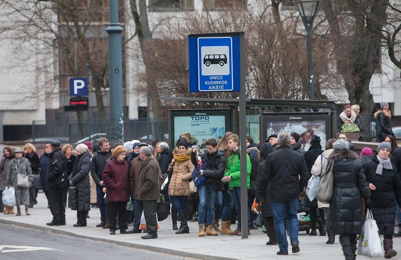 Vilniaus vie�asis transportas�� �Google� �em�lapiuose