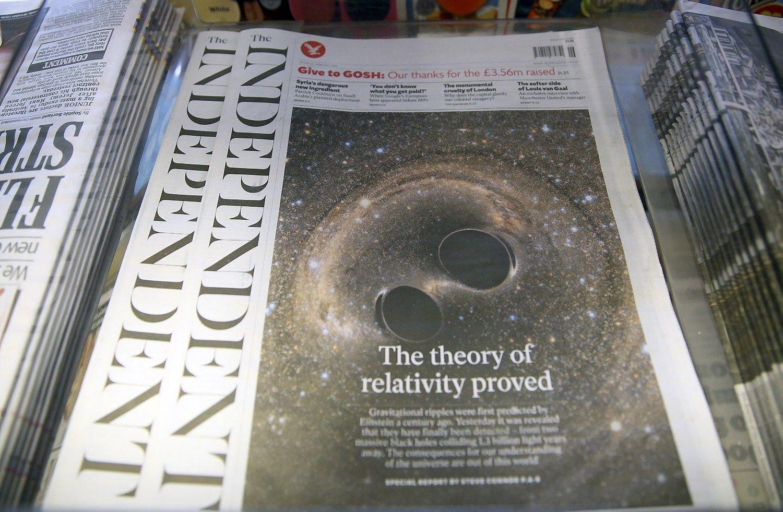 Brit� �Independent� atsisako spausdint� leidini�