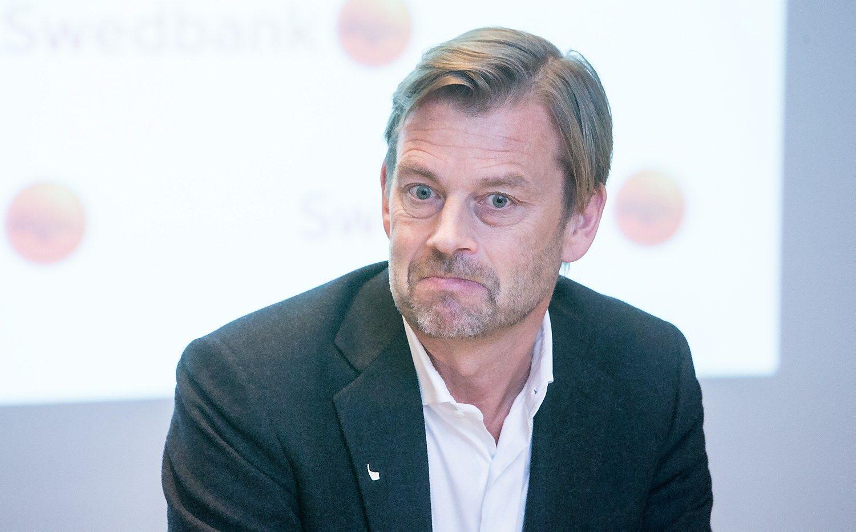 Buv�s �Swedbank� vadovas � teis�saugos akiratyje