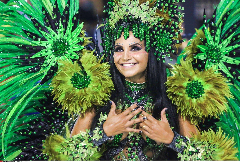 Rio de �aneir� spalvino sambos festivalis