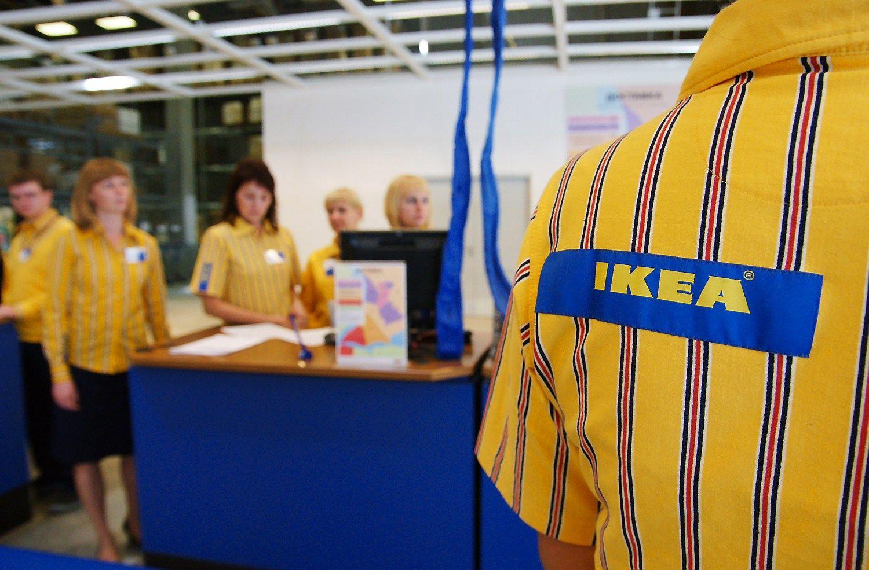�alieji kaltina �Ikea� nesumok�jus 1 mlrd. Eur mokes�i�