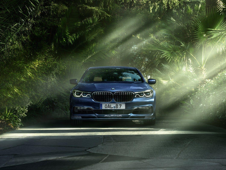 �Alpina� patobulino prabangiausi� BMW sedan�