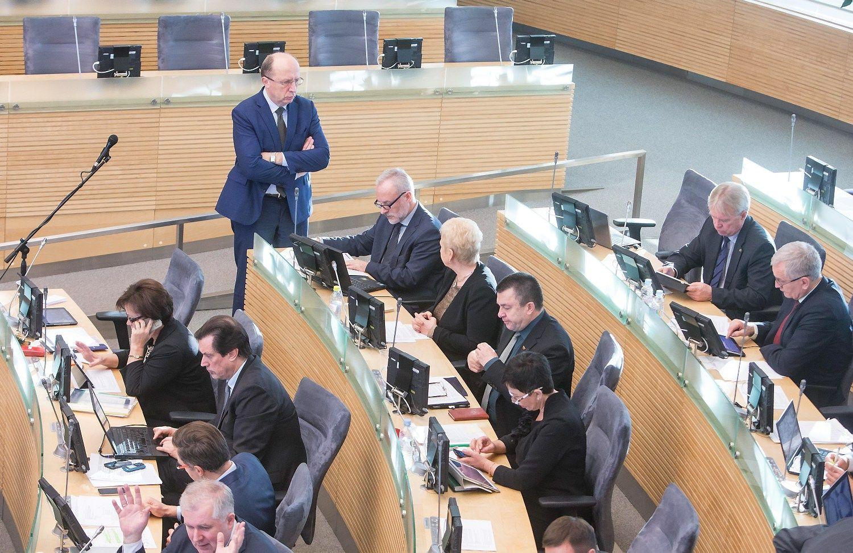 Šią savaitę: neeilinė Seimo sesija, sankcijų Minskui atšaukimas