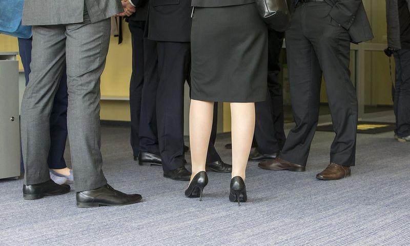 Vyriausybė nepritarė pasiūlymui įpareigoti akcines bendroves į savo valdybas būtina tvarka įtraukti bent po vieną moterį.  VLADIMIRO IVANOVO (VŽ) NUOTR.