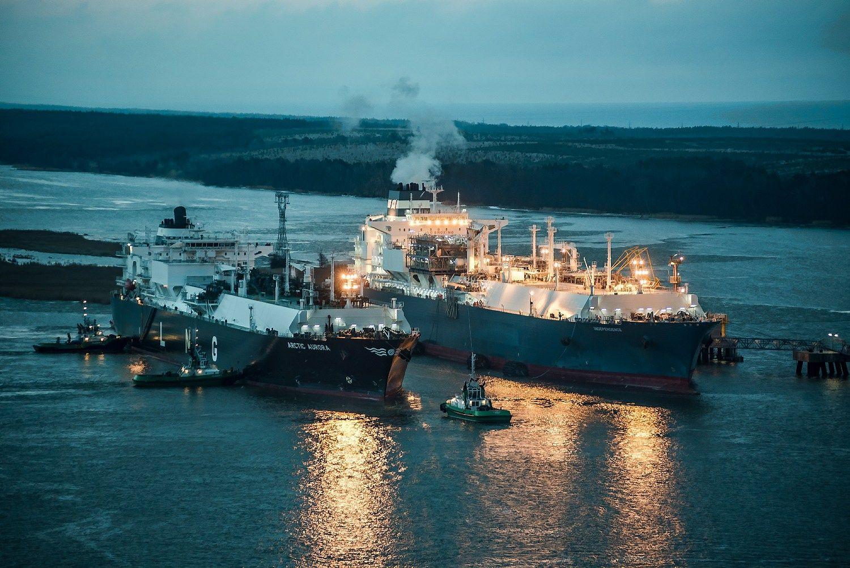 Terminalą pasiekė SkGD rinkos naujokių dujos