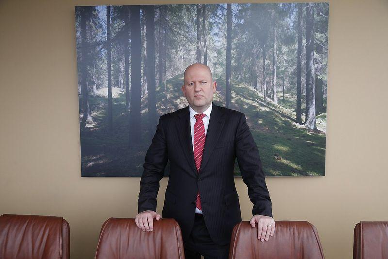 """Regimantas Liepa apskaitos paslaugų UAB """"Nordgain"""" valdybos pirmininkas: """"Nordgain"""" iš esmės yra paslaugų centras, galintis teikti paslaugas tiek Lietuvoje, tiek užsienyje"""". Vladimiro Ivanovo (VŽ) nuotr."""