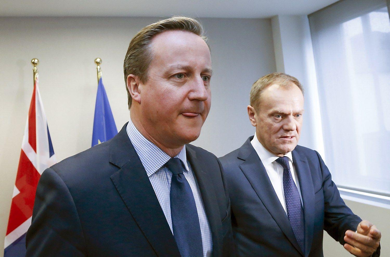Cameronas ir ES lyderiai susitarė
