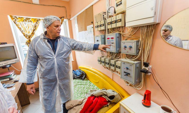 Sigitas Petkevičius, tris mėsinių viščiukų auginimo fermas valdantis verslininkas, sako, kad paukštininkystės versle šiuo metu tvyro ramybė. Vladimiro Ivanovo (VŽ) nuotr.