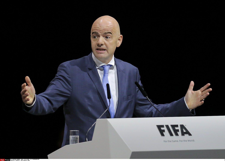 Gianni Infantino, i�rinktasis FIFA prezidentas.  �Sipa� / �Scanpix nuotr.