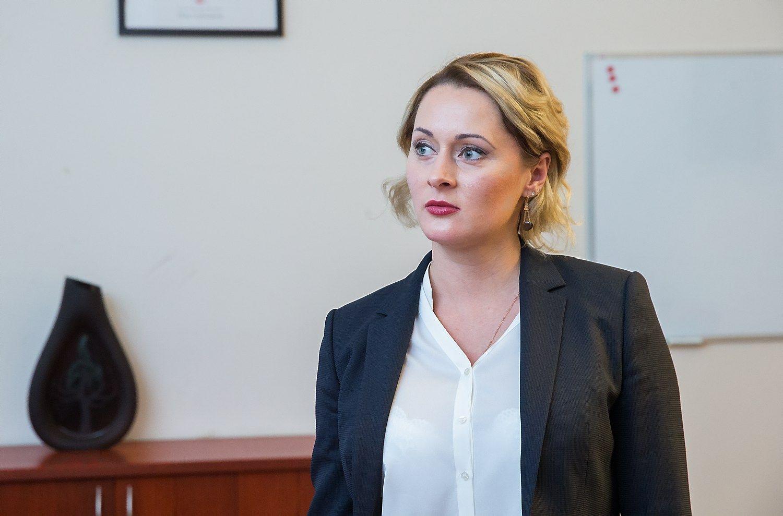 Daiva Gineikait�, buvusi Nacionalin�s �em�s tarnybos (N�T) direktor�. Juditos Grigelyt�s (V�) nuotr.
