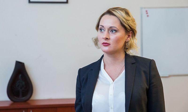 Daiva Gineikaitė, buvusi Nacionalinės žemės tarnybos (NŽT) direktorė. Juditos Grigelytės (VŽ) nuotr.