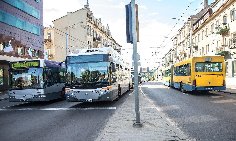 Vilniaus transporte bus privatus vežėjas: skelbia tarptautinį konkursą