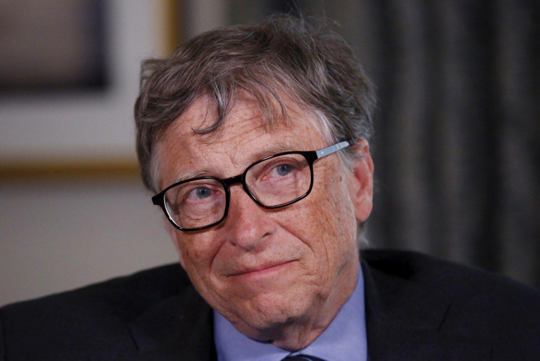 """""""Forbes"""": Gateso turtas sumažėjo, bet jis vis dar turtingiausias"""