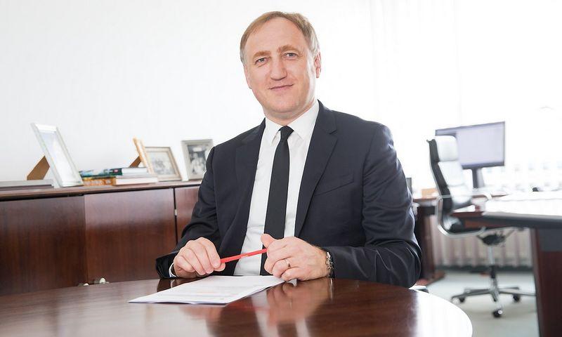 Dr. Kęstutis Bagdonavičius, ERGO draudimo grupės Baltijos šalyse valdybos pirmininkas, ERGO Life Insurance SE generalinis direktorius. Juditos Grigelytės (VŽ) nuotr.