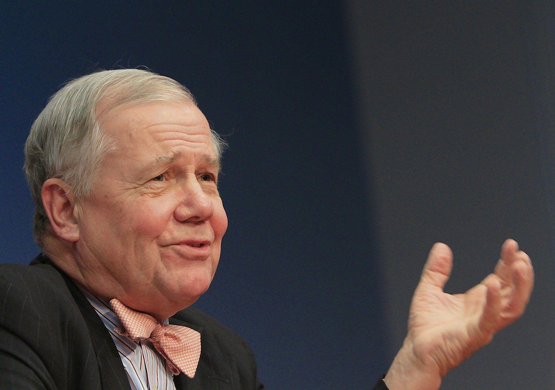 """Jimas Rogersas, investuotojas. Brendano McDermido (""""Reuters""""/""""Scanpix"""") nuotr."""