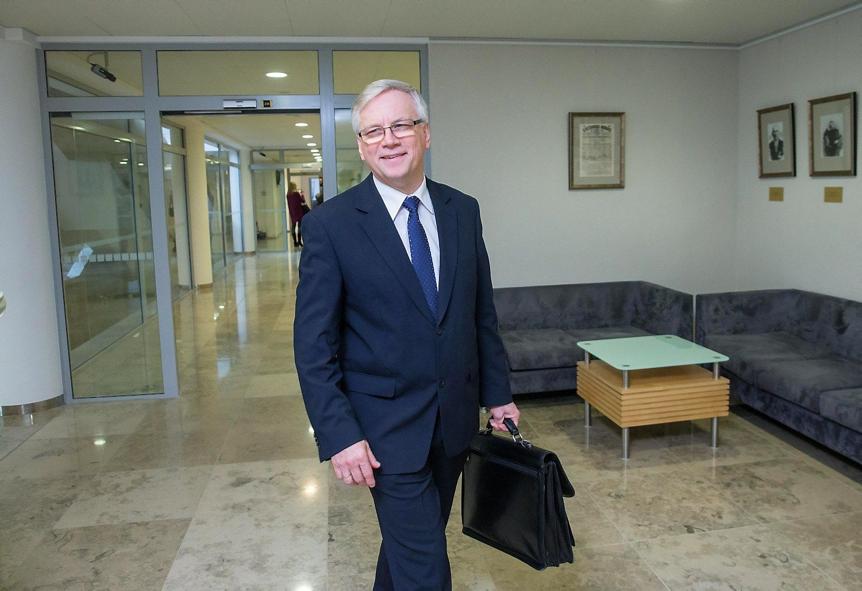Rimantas �ad�ius, Lietuvos finans� ministras. Juditos Grigelyt�s (V�) nuotr.
