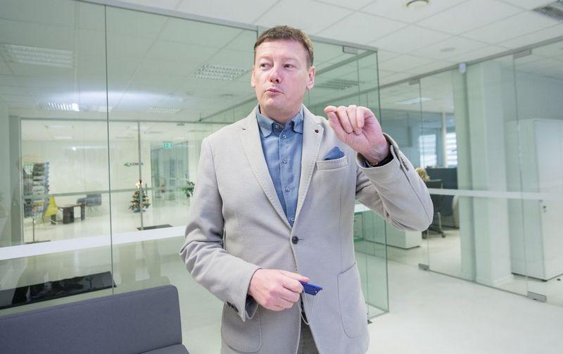 """Vidmantas Janulevičius, """"BOD Group"""" įkūrėjas ir valdybos pirmininkas. Vladimiro Ivanovo (VŽ) nuotr."""