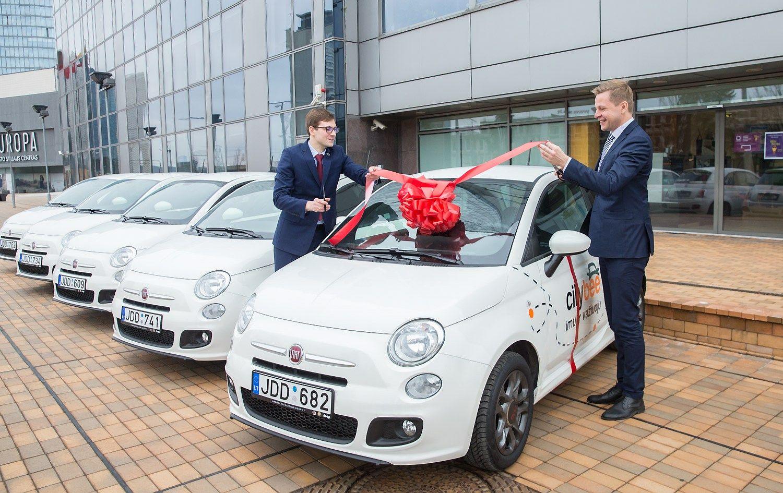 """""""CityBee"""" perka 200 automobilių ir atidaro 30 naujų stotelių"""