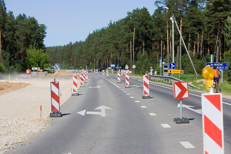 Kelio Vilnius-Zarasai rekonstrukcijai � 11 mln. Eur ES l���