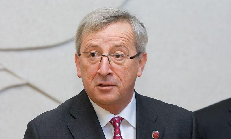 Jeanas-Claude'as Junckeris, EK pirmininkas.  Juditos Grigelytės (VŽ) nuotr.
