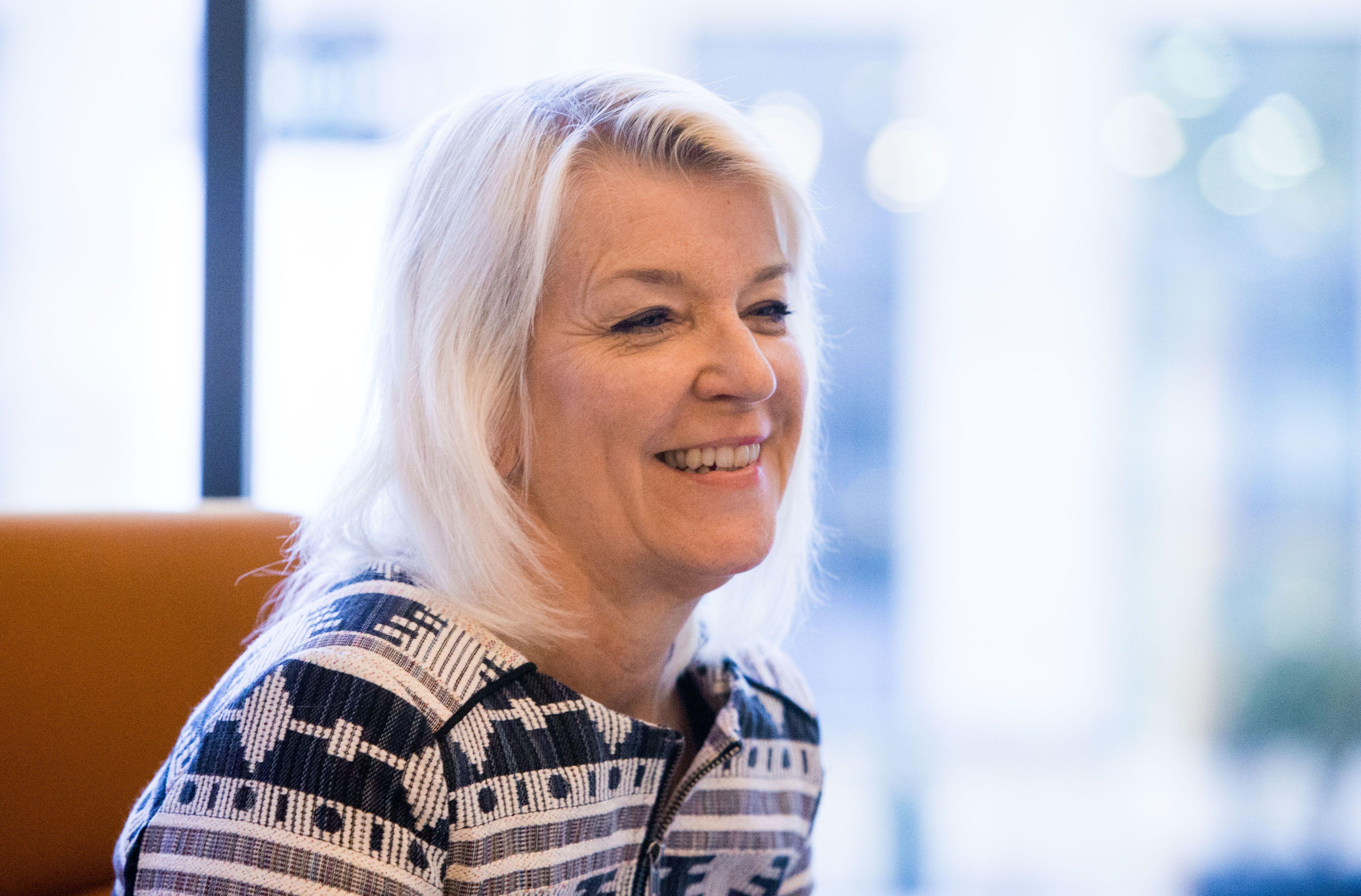 Karin Jordas,  �Mentor International� ir �Mentor Sweden� generalin� sekretor�. Juditos Grigelyt�s (V�) nuotr.