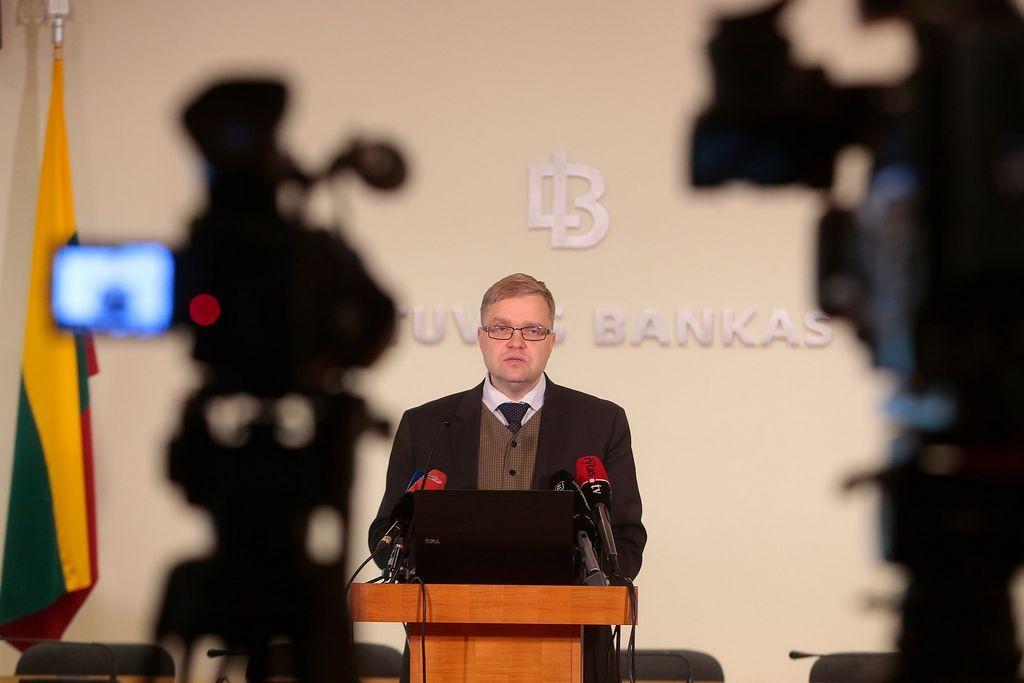 Vasiliauskas: metai bankams svarb�s d�l poky�i�, kurie bus naudingi vartotojams
