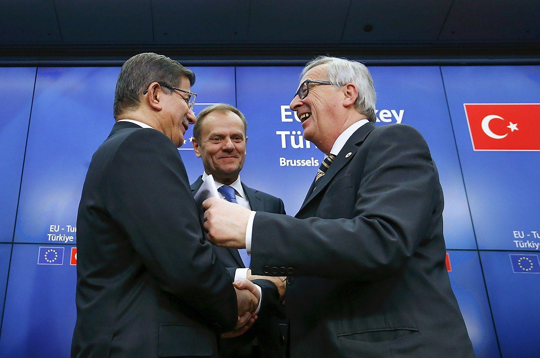 Turkija ir ES žengtelėjo link susitarimo dėl migrantų