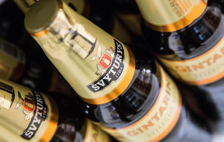 �Maxima� ir ��vyturys�Utenos alus� susikibo d�l kainos