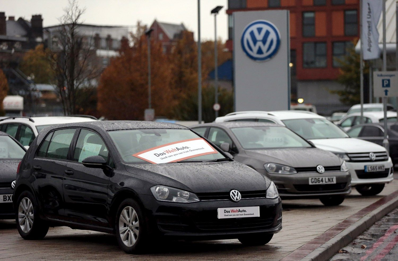�Allianz� ruo�ia ie�kin� �Volkswagen� d�l akcij� vert�s kry�io