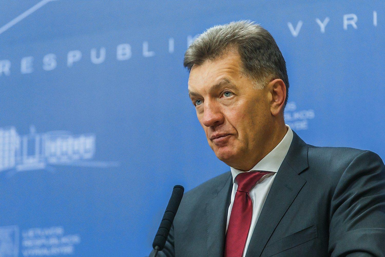 Algirdas Butkevi�ius, Lietuvos Ministras Pirmininkas. Vladimiro Ivanovo (V�) nuotr.