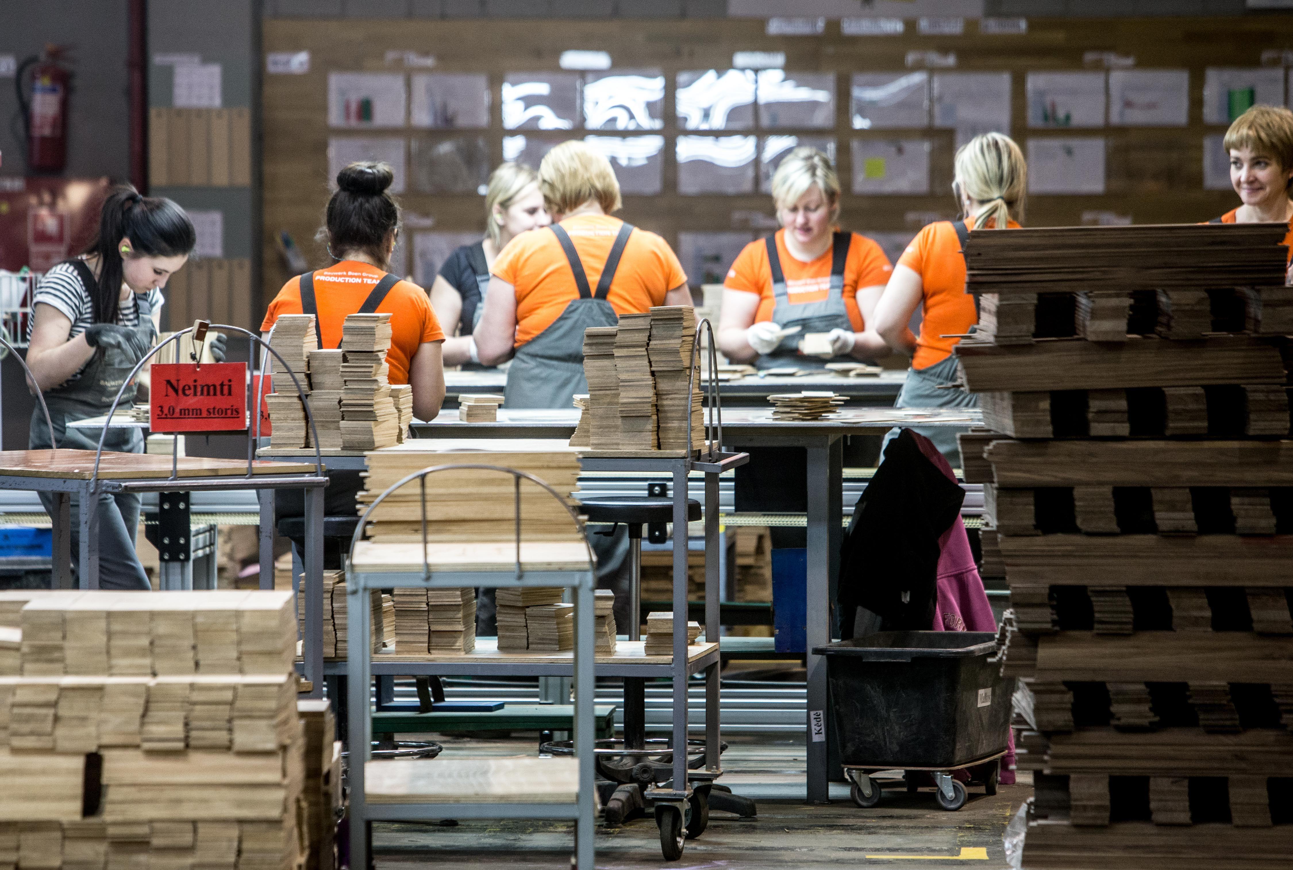 Neįtikėtini pramonės rezultatai: pelnas išaugo 74%